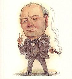 Churchill publicidad