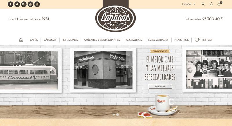 Cafes Caracas Comercio Online